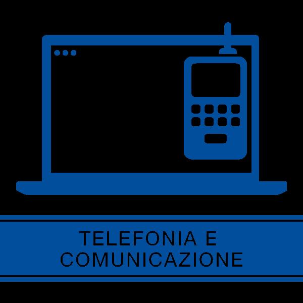 pulsante pagina prodotti telefonia e comunicazione