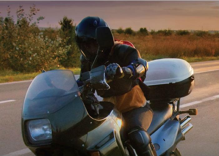 Immagine di una moto identificativa del pulsante batterie litio moto