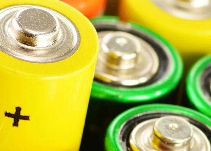 Immagine di alcune batterie primarie identificativa del pulsante pile, pacchi batterie e assemblati batterie primarie