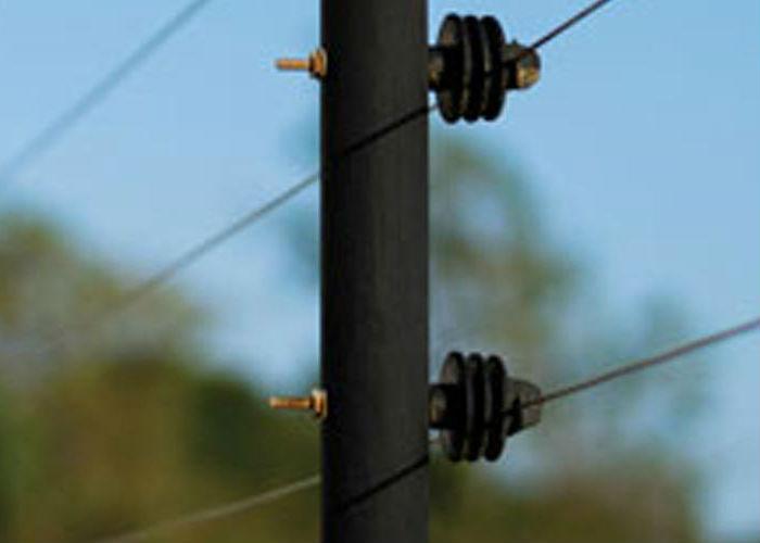 Immagine di un recinto elttrico identificativa del pulsante pile, pacchi batterie e assemblati batterie per recinti elettrici
